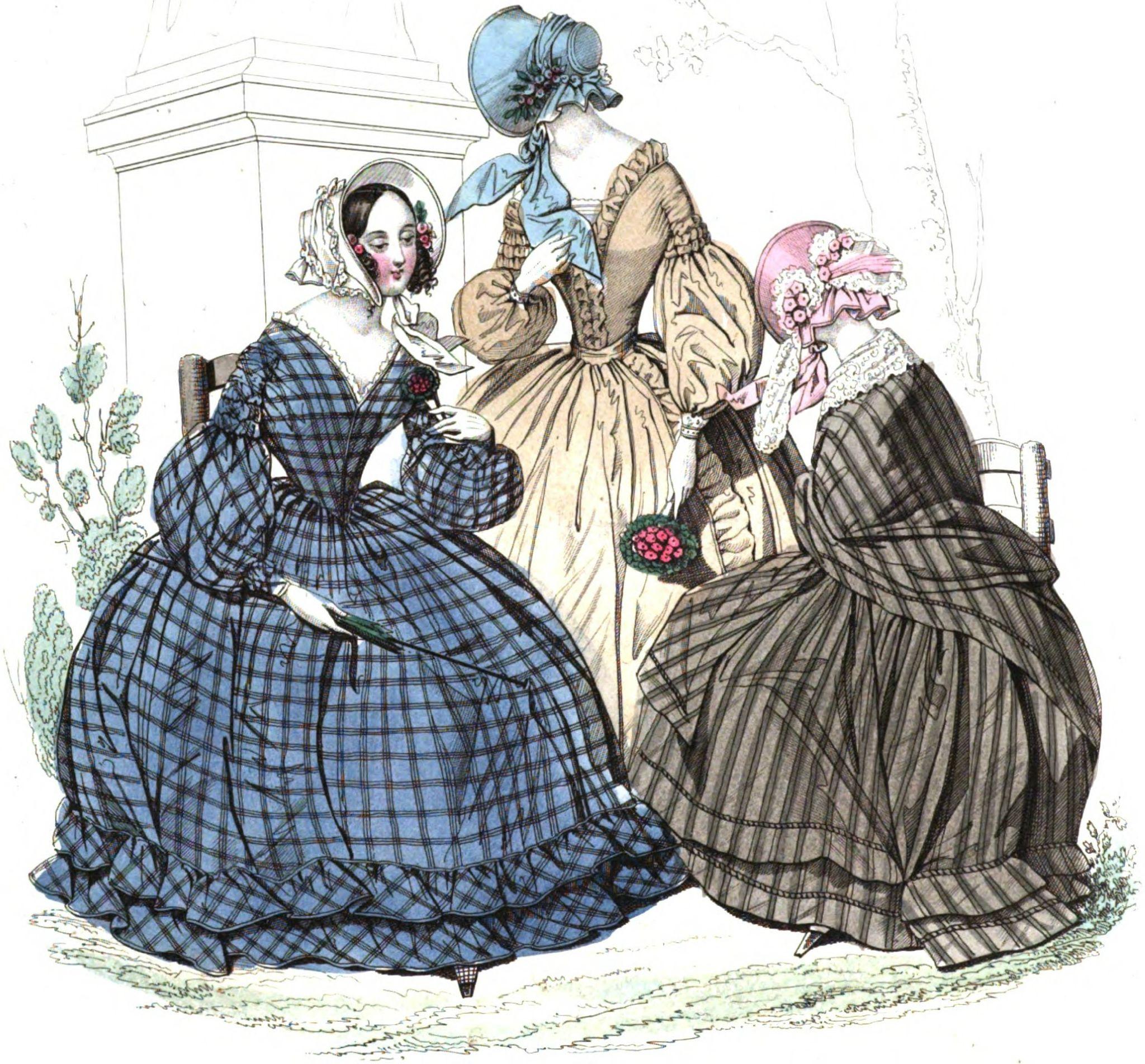 La mode au XIXe siècle, 3ème partie  1830/1848, la monarchie de juillet